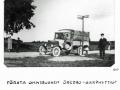 Första omnuibussen Örebro-Garphyttan 1921-1922